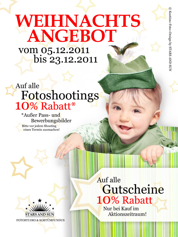 Fotoshooting Dresden Weihnachtsaktion